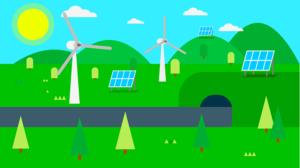 Solarne panely a veterné turbíny